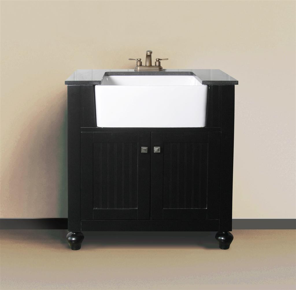 Melendy single 30 inch espresso modern bathroom vanity