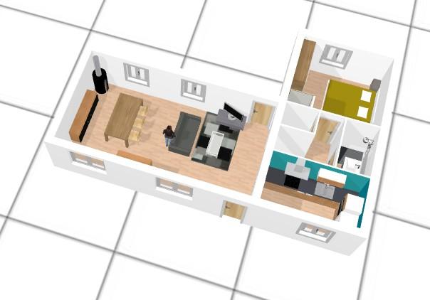 faire un plan de maison en 3d