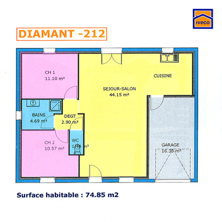 Construire sa maison plan de maison - Idées de travaux - Construire Sa Maison Plan