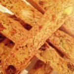 Pistachio biscotti