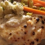 Marguerite's fish mornay