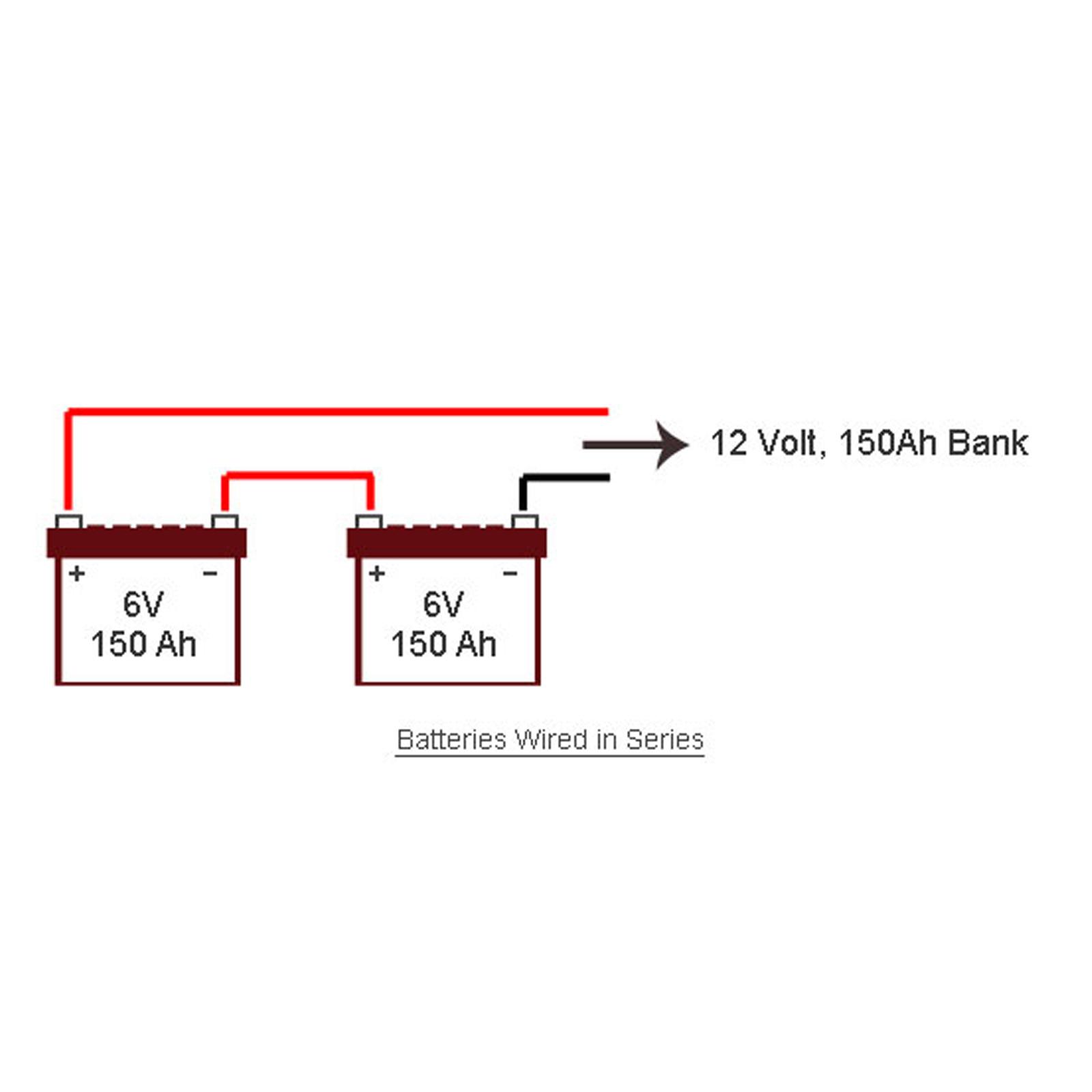 cr4 thread wiring batteries in series