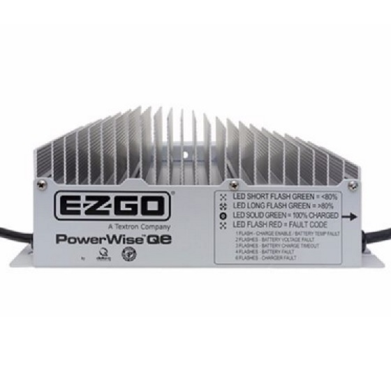Golf Cart Battery Chargers Flashing Lights on the Delta Q QE Ezgo