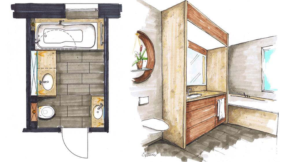 badezimmer 3 m2 [hwsc], Badezimmer ideen