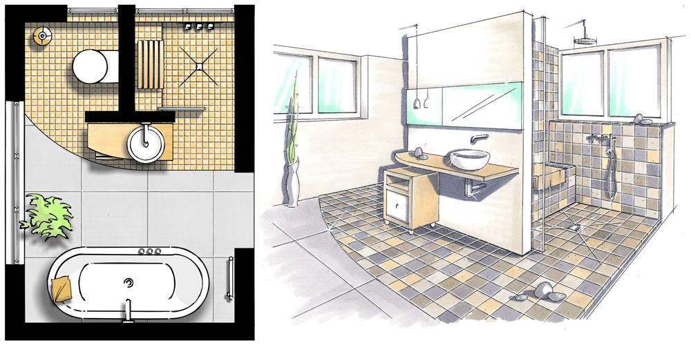 Kleine Bäder gestalten ▷ Tipps \ Tricks füru0027s kleine Bad - bauende - badezimmer 5 quadratmeter