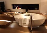 Freistehende Badewanne ergnzt die Kollektion Axor Massaud ...