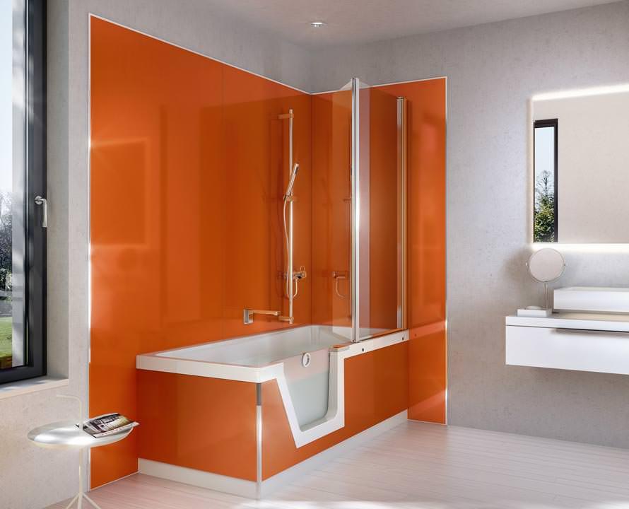 Duscholux PanElle Bad-Sanierung mit modularem Wandverkleidungs-System - badezimmer sanieren