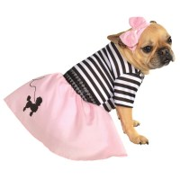 50's Girl Dog Halloween Costume | BaxterBoo
