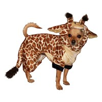 Giraffe Dog Costume