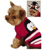 Piggyback Pals Dog Sweater Set - Penguin | BaxterBoo