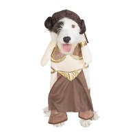 Princess Leia Slave Girl Dog Halloween Costume | BaxterBoo