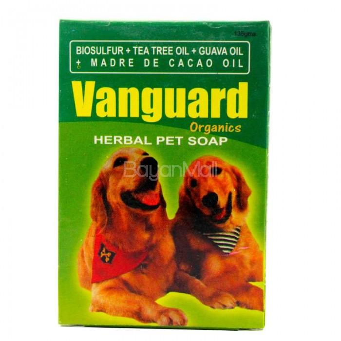 Vanguard Organic - Herbal Pet Soap 135g