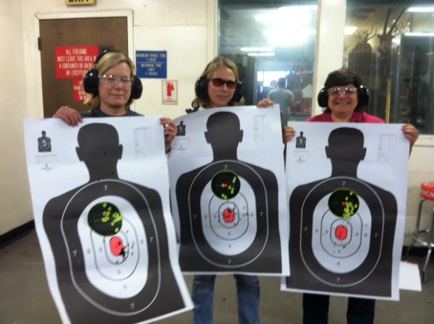 Women Shooting Range