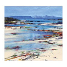 Eigg and Rum - Limited Edition Giclee Art Print by John Bathgate