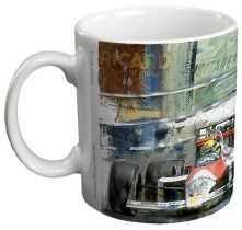 1988 McLaren MP4_4 Ceramic Gift Mug by Art48