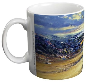 Towards Harris - Ceramic Gift Mug by John Bathgate