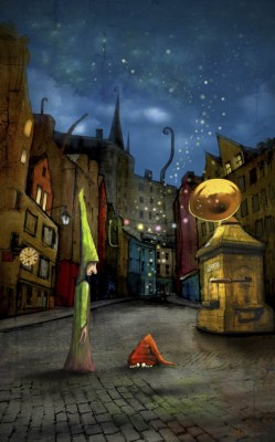 Silent Street (The West Bow) by Matylda Konecka