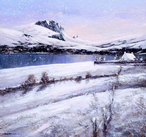 John Bathgate - The Storr in Snow