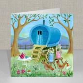 Travellers Rest Greeting Card