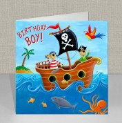 Pirate - Birthday Card