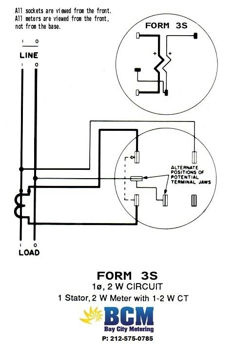 wiring electric meter form diagrams