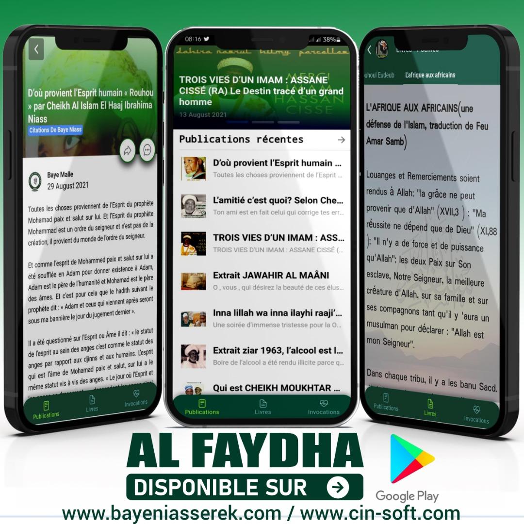 Application mobile Al Faydha