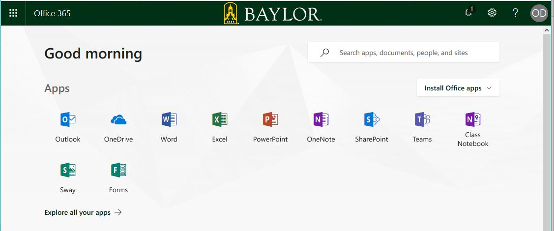 Microsoft Office to Office 365 Online Information Technology