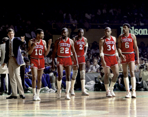 All-Time Philadelphia 76ers