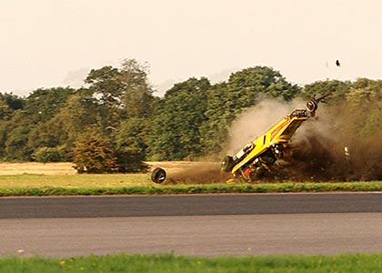 Richard Hammond Crash Image