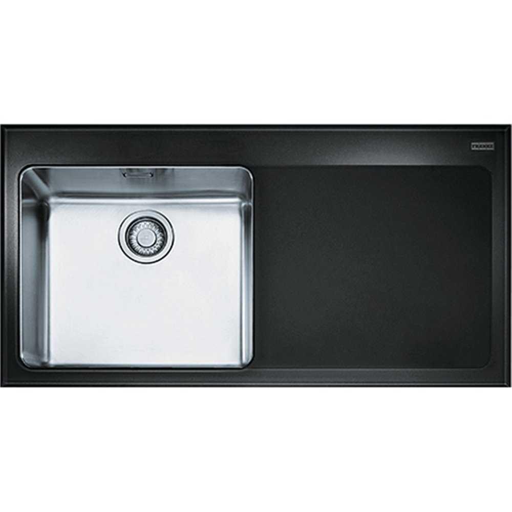 Franke Kubus Kbv 611 Glass Sink Bbk Direct