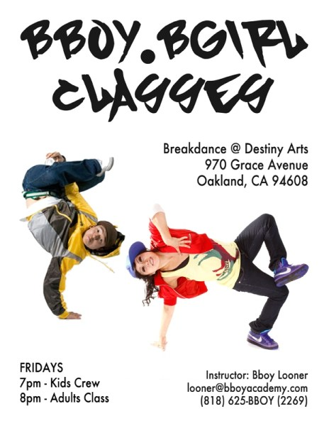 Adult Class @ Destiny Arts Center | Oakland | California | United States