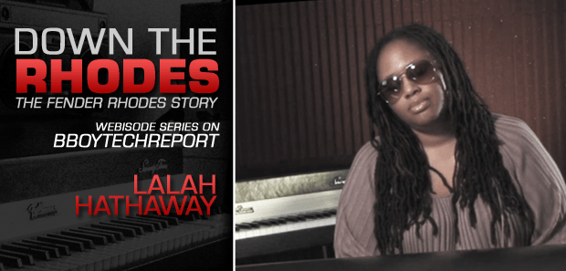 DOWN THE RHODES: LALAH HATHAWAY