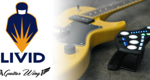 LIVID Announces Guitar Wing – Wireless Control Surface for Guitar and Bass