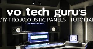 VO Tech Guru's DIY Pro Acoustic Panels Tutorial