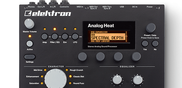 Elektron Announces All New Product - Analog Heat
