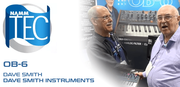 Exclusive NAMM TEC Awards Interview – Dave Smith of Dave Smith Instruments
