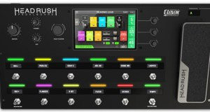 Headrush Pedalboard – Quad-­Core Dsp Amp And Fx Modeling With Touchscreen Interface