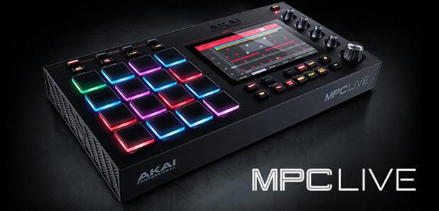 Akai Professional Announces Stand-Alone Mpc Live