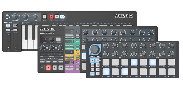 ARTURIA ANNOUNCES BLACK EDITION - KeyStep, BeatStep, and BeatStep Pro