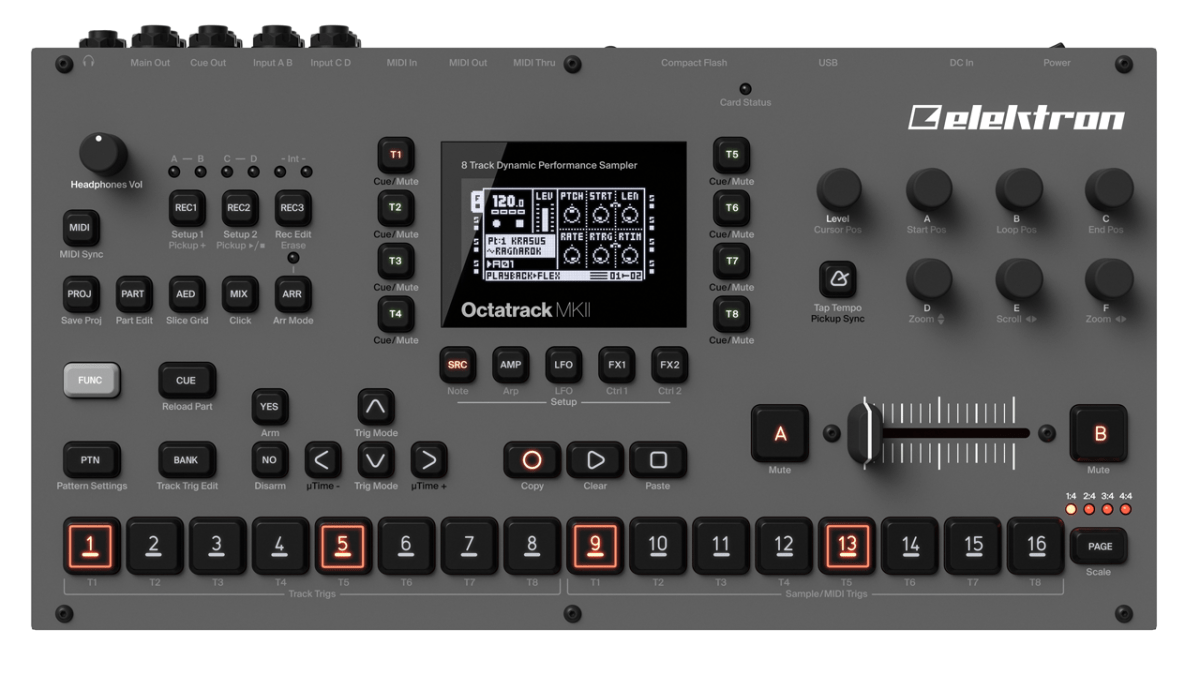 Octatrack MKII Unveiled
