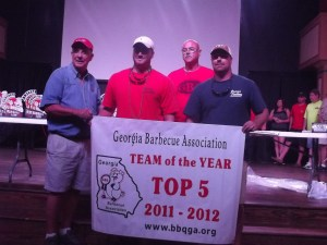 Top 5 Team of the Year - Sauced Hogs Smokeshack