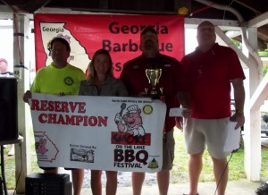 Reserve Champion - Sauced Hogs Smoke Shack