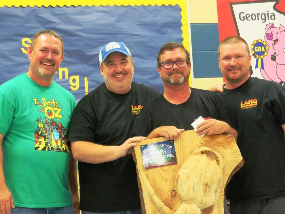 Grand Champion - Lang BBQ Smokers