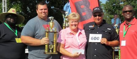 600 Score - Bull Rush BBQ