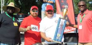 First Place Loin & 600 Score - Rescue Smokers