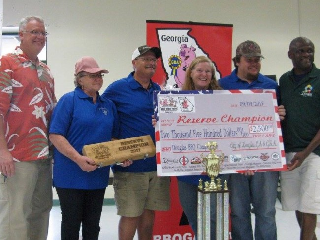Reserve Grand Champion - Hold Your Horses BBQ