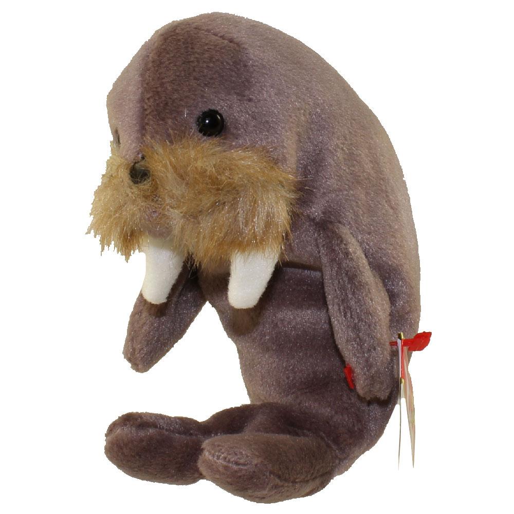 ty beanie baby jolly the walrus 7 inch bbtoystore com