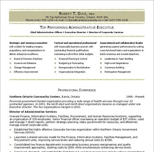 Resume-Writing-Services - planned giving officer sample resume