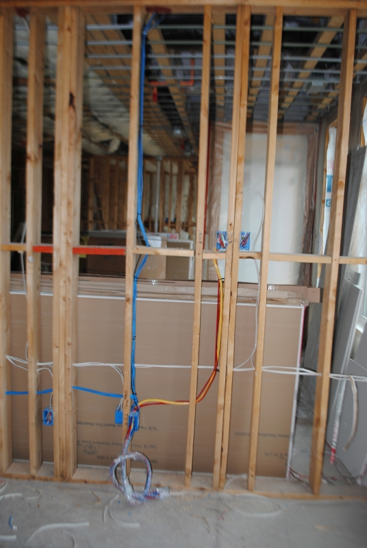Pre-wire Phase A/V Wiring on the Eastside of Milwaukee BC Neville Tech