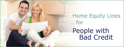 Bad Credit Home Equity Lines and HELOC Loans - Non Prime Credit